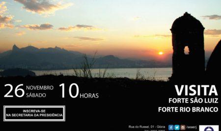 Visita ao Forte São Luiz e Forte Rio Branco