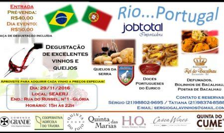 Degustação de Queijos e Vinhos: Rio…Portugal