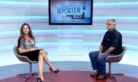 Entrevista no Repórter Rio