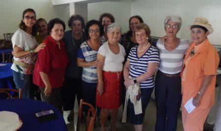 Reunião Mensal das Pensionistas
