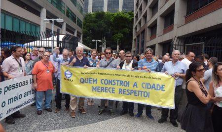 Manifestação no CASS