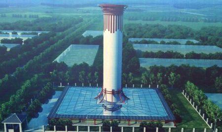 China constrói maior purificador de ar do mundo