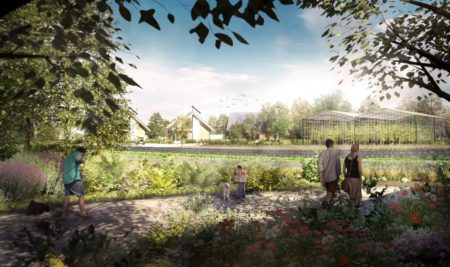 Vila ecológica high-tech propõe o fim dos subúrbios como os conhecemos