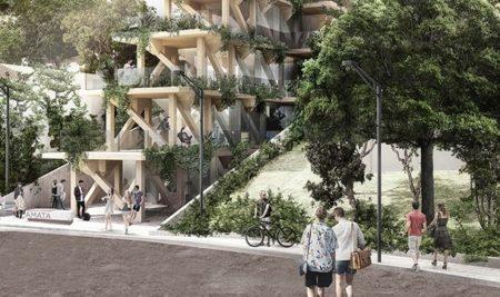 Primeiro prédio de madeira do Brasil concorre a prêmio de sustentabilidade
