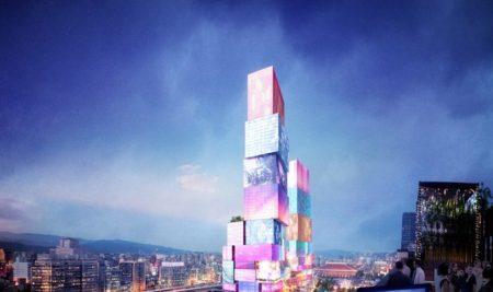 Time Square de Taiwan: Empresa vai Construir Arranha-Céu com Telas Interativas