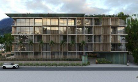 Edifício em Ubatuba tem projeto marcado pela presença do bambu