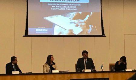 CGE-RJ promove workshop sobre gerenciamento de riscos