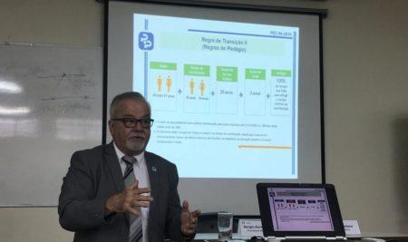 SEAERJ promove encontro com presidente do Rioprevidência
