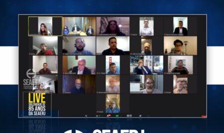SEAERJ transmite live em comemoração aos 85 anos