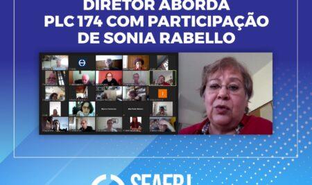 Reunião do Conselho Diretor aborda PLC 174 com participação de Sonia Rabello