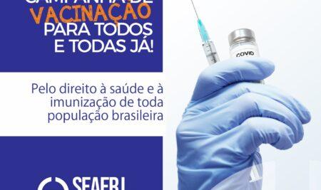 Nota Pública | COVID 19 – Campanha Vacina para Todas e Todos