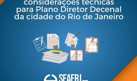 SEAERJ apresenta suas considerações técnicas para Plano Diretor Decenal da cidade do Rio de Janeiro