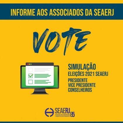 Vote na Simulação das Eleições 14/04/2021
