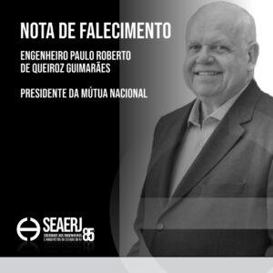 Seaerj lamenta perda do presidente da Mútua