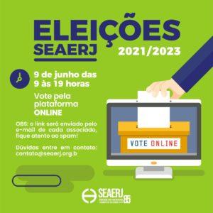 ELEIÇÕES SEAERJ – 2021/2023