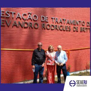 SEAERJ participa de solenidade para troca de nome da ETIG em homenagem ao biólogo sanitarista Evandro Britto